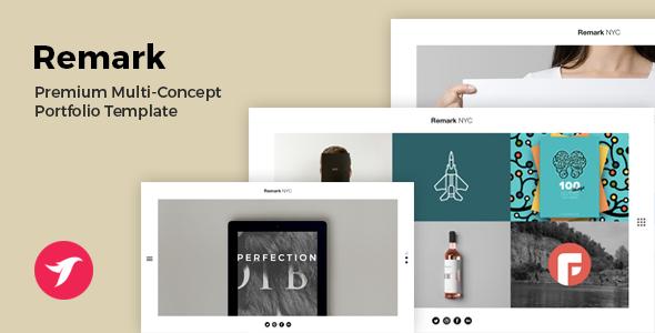 REMARK - Multi Concept Portfolio & Agency Template (Update 2-12-15)