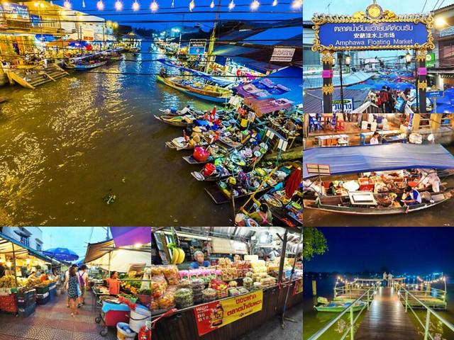 泰國 水上市場 安帕瓦水上市場 Amphawa 曼谷 旅遊景點-1