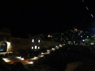 Notturno sull'esterno certosa di Padula