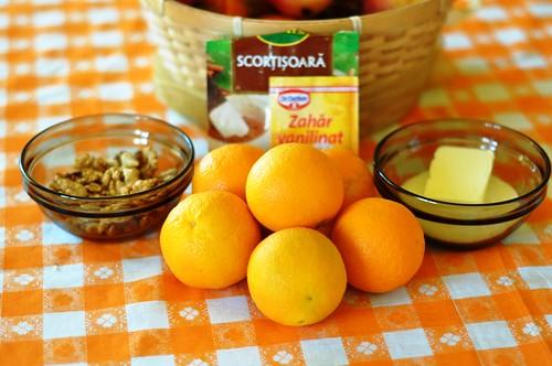 Portocale si nuci caramelizate
