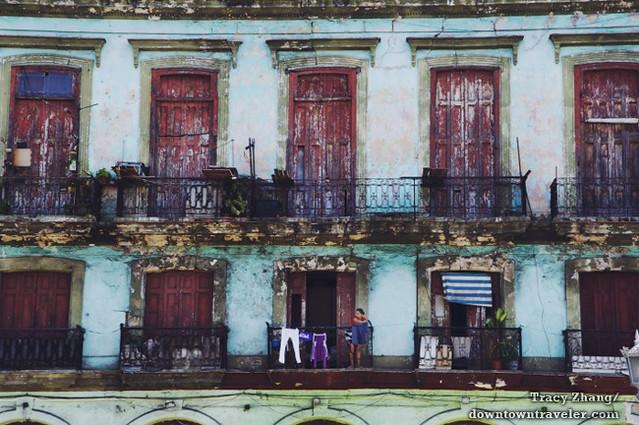 Old Havana Cuba Street Scene 5