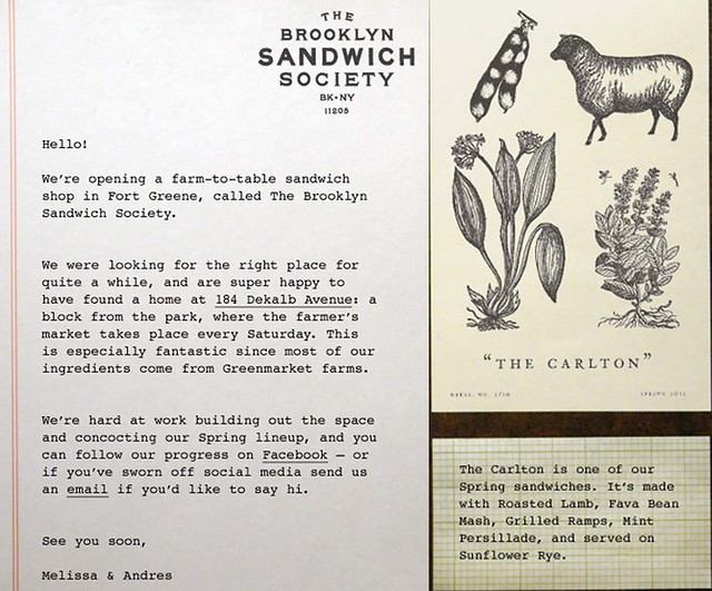 the brooklyn sandwich society