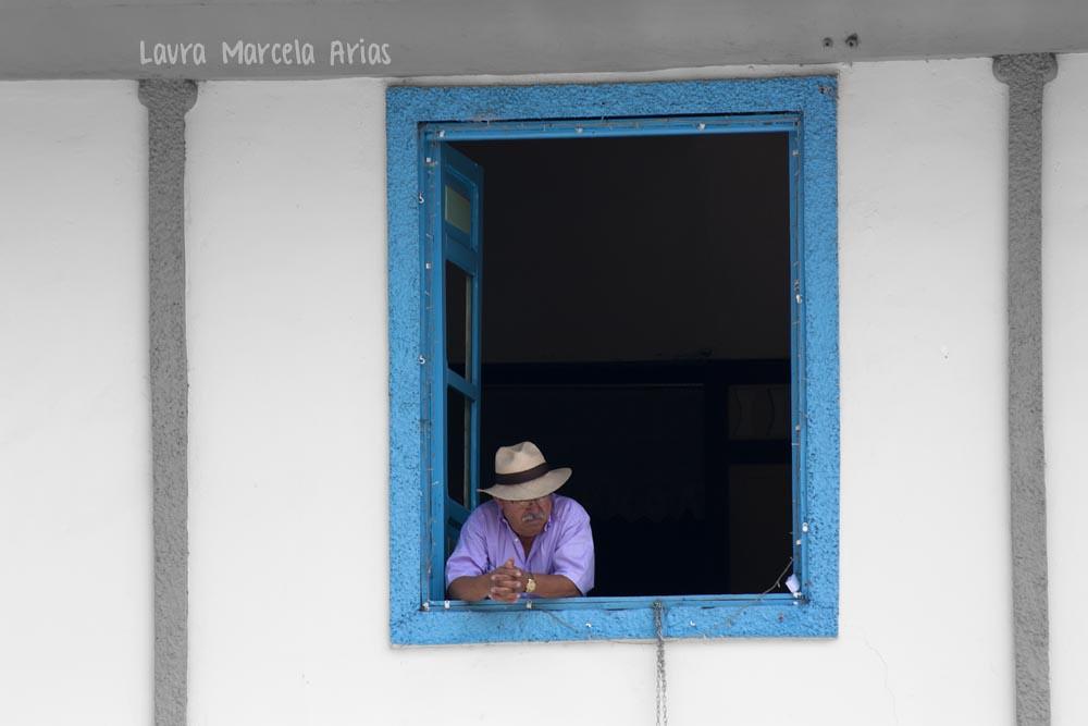 Imagen de una ventana de casa típica