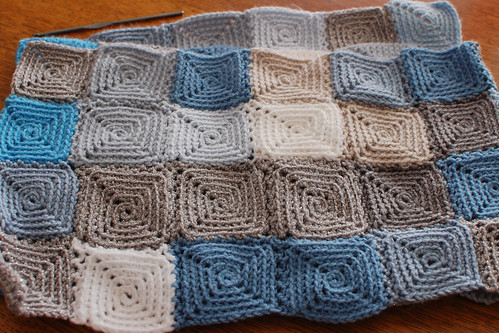 sky blanket in progress