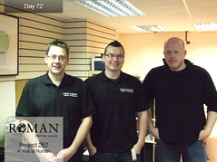 #Project 252 - Day 72: Roman's Website Development Team