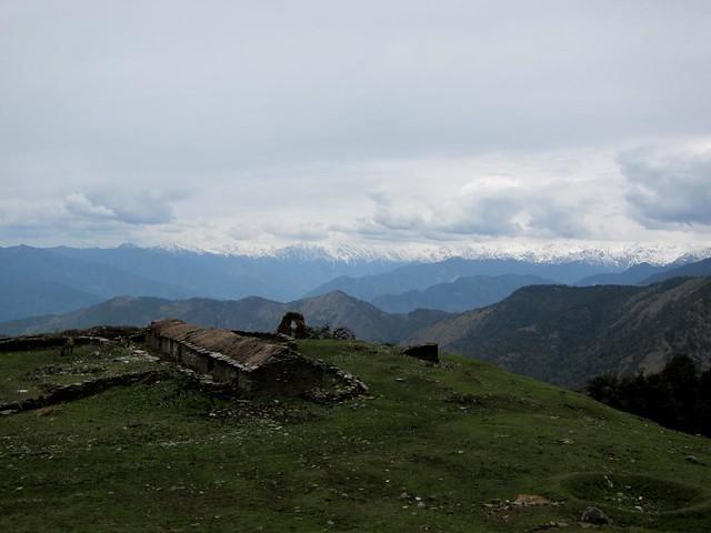 Climbing Tungnath