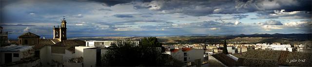 Panoramica de la juderia de Jaén