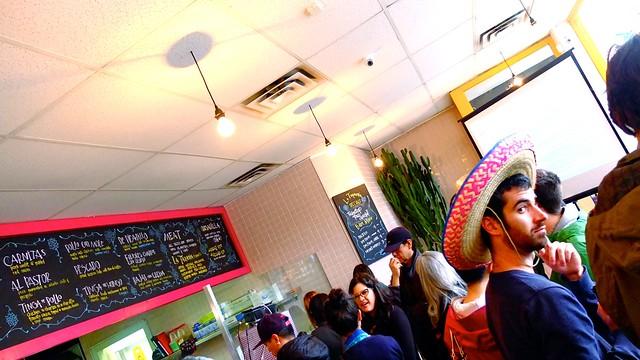 La Taqueria Pinche Taco Shop | Cambie Tweetup