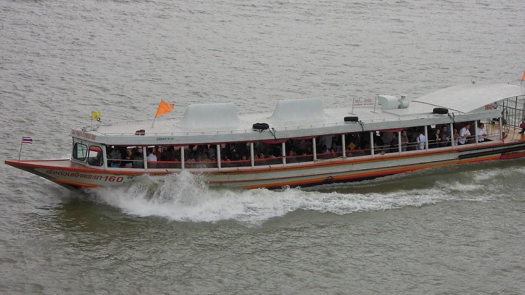 Chao Phraya Express Boat Service, Bangkok, Thailand