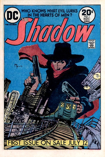 The Shadow DC Comics House ad from HOM 217 1973