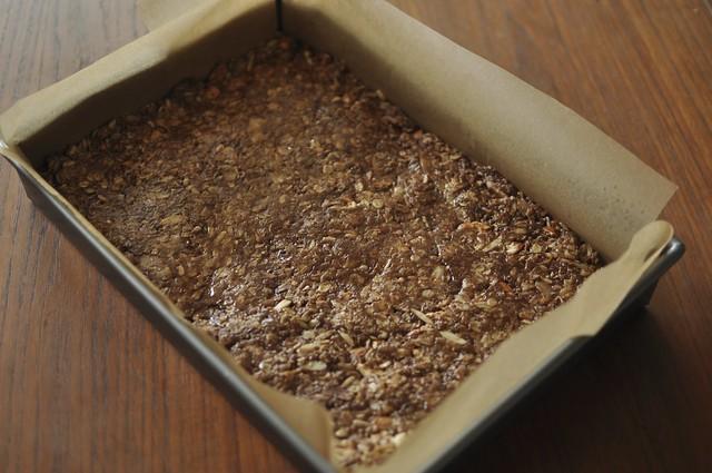 pre-baked granola bars