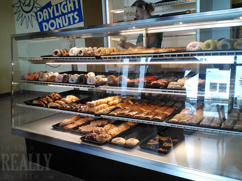 SassyScoops.com & Daylight Donuts