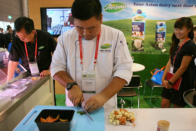 Chef Fahmi Widarte is corporate chef at Greenfields