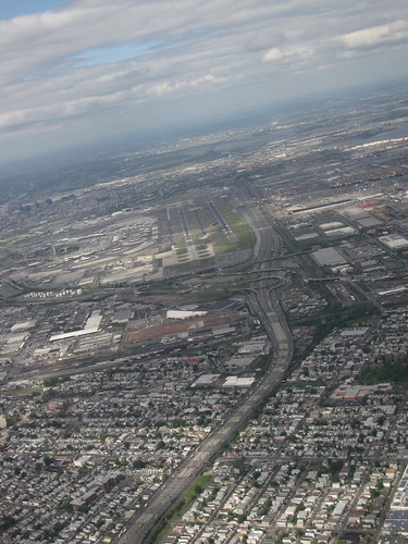 Newark Airport from United 41