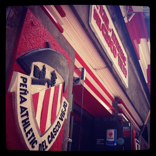 Peña del Athletic Casco Viejo by LaVisitaComunicacion