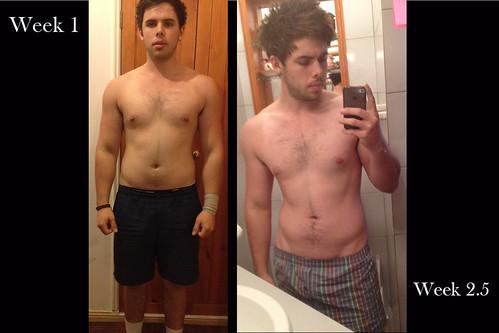 Starting my cut [23/04/2012] - 83kg ~ 18-20% bodyfat ...
