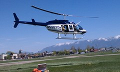 aircraft, aviation, helicopter rotor, helicopter, vehicle, bell 206, air force,