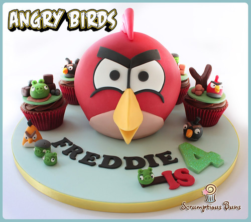 Angry Birds by Scrumptious Buns (Samantha)