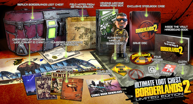 Borderlands 2 PS3 Ultimate Loot Chest