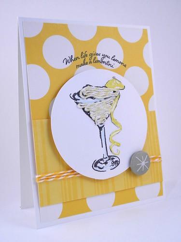 Make a Lemontini!