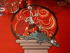 Ae Oche Mascot as San Giorgio
