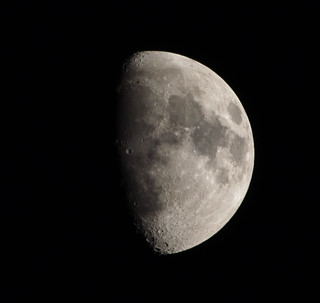 Waxing Gibbous Moon 19 May 2013