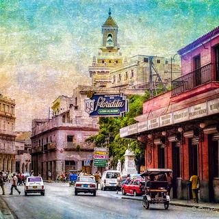 Street Scene Cuba