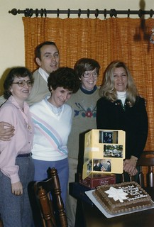 Indiana   -   Terre Haute   -   A Promotion Party for John (in Korea) at Terry & Jerry Tsuneta's … all good friends to me during that year    -   December 1984