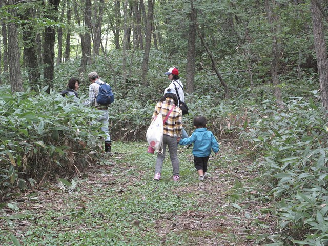 子どもも安心して歩ける.