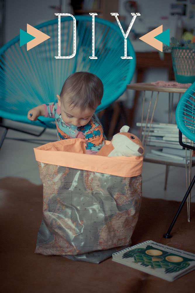 diy les sacs de rangement en tissu planb par morganours. Black Bedroom Furniture Sets. Home Design Ideas