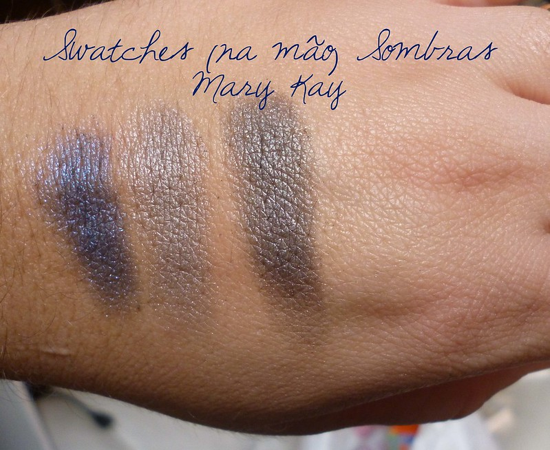 Sombras Mary Kay- Swatches