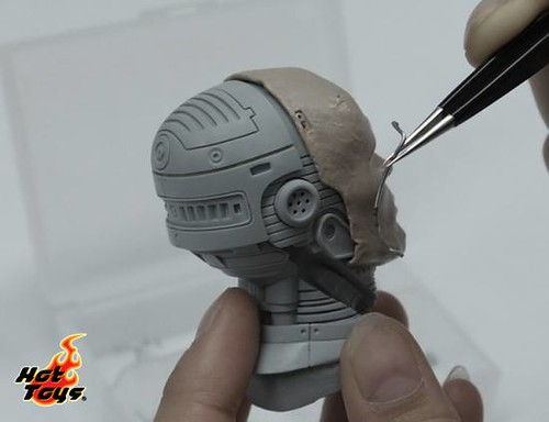 Hot Toys' Robocop_unmasked Murphy head sculpt
