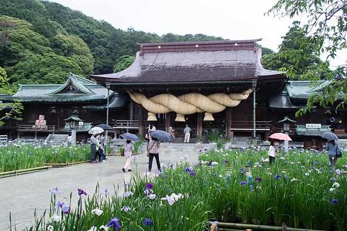 Miyajidake Shrine 宮地嶽神社