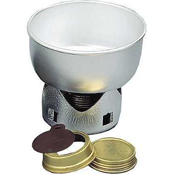 Mini-hornillo ligero de alcohol para cocinar: Trangia compacto