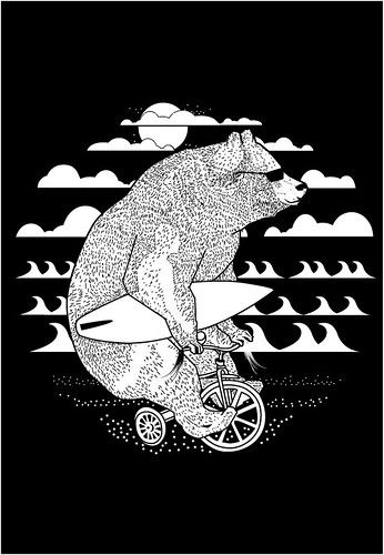 http://www.threadless.com/blackandwhite/california-dreamin/ by del_core