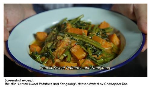 video - lemak sweet potato and kankong