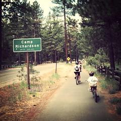 Bike Riding Around Lake Tahoe