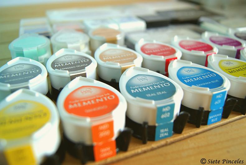 Tipos de tintas para carvado y scrapbooking 4