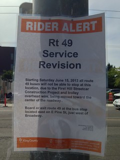 Rider Alert: Broadway bus stop closures (and why)