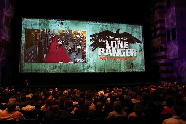 The Lone Ranger world premiere at Disney California Adventure