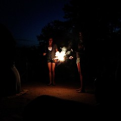 light, sparkler, fire, darkness, midnight, night, lighting,