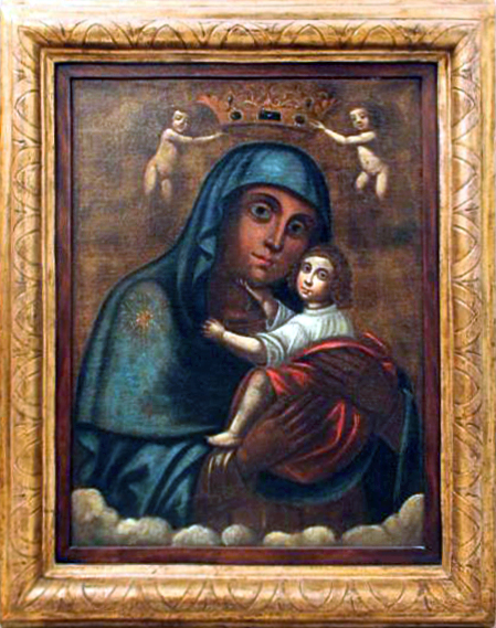 Il quadro della Madonna