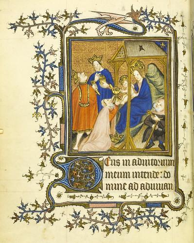 012-Horae Beatae Virginis Mariae…78v- Biblioteca Nacional de Varsovia