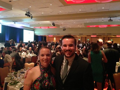 Ingrid and Sam at the Colorado Companies to Watch Gala