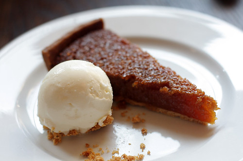 Treacle tart at the Beagle