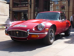 E-Type Jaguar_Broadgate_Coventry_Jul13