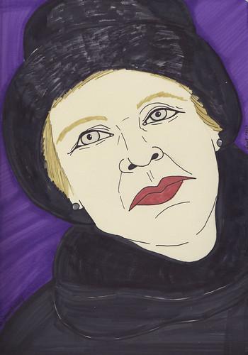 Edwina Jill Mordasky by Hank V