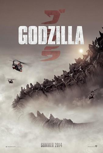 130719(4) - 2014年3D立體怪獸災難片《GODZILLA》發表第3張海報、哥吉拉的龐然巨尾搶先公開!