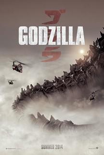 130719(4) – 2014年好萊塢3D立體怪獸災難片《GODZILLA》發表第3張海報、哥吉拉的龐然巨尾搶先公開!