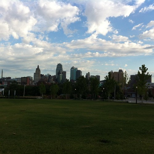The view during my morning run in KC. #EduTour <NP>